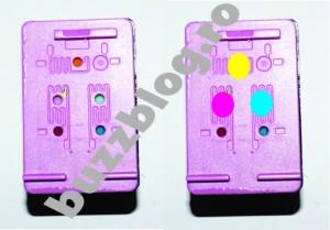 Cartus HP 652 ordinea culorilor